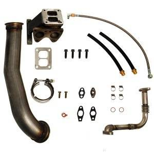 Pacific Performance Engineering - PPE GT40R Series Turbo Installation Kit, Chevy/GMC (2004.5-06) 6.6L Duramax LLY