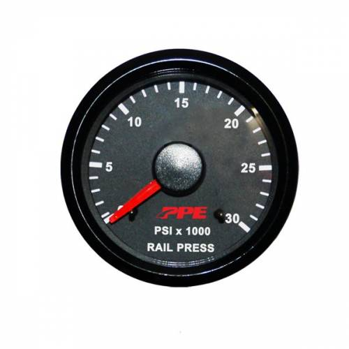 Pacific Performance Engineering - PPE Fuel Rail Pressure Gauge, Chevy/GMC (2006-10) 6.6L Duramax LLY/LBZ/LMM