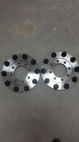 Diamond T Enterprises - Diamond T Single Rear Wheel to Dually Adapters, Ford (1992-13) F-250 & F-350 (rear only)