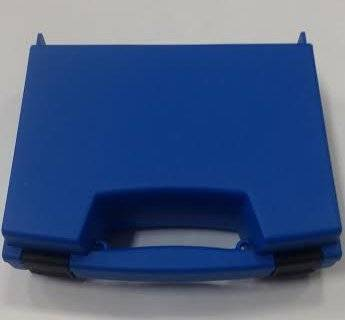 "Tool Storage Case, 8.4"" x 6.8"" x 2.45"" Blue (with pick and pluck foam)"