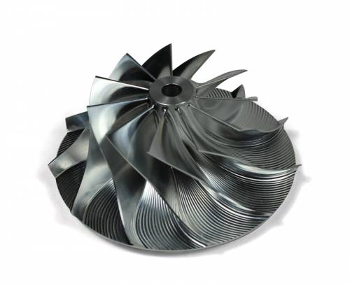 DieselSite - Dieselsite Wicked Wheel 2 Performance Compressor Wheel, Holset Modded 66mm H2E & HX55 Turbo
