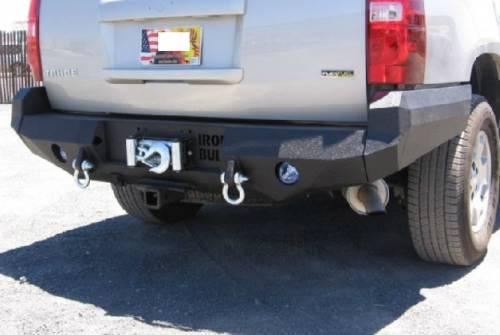 Iron Bull Bumpers - Iron Bull Rear Bumper, Chevy (2007-13) Tahoe