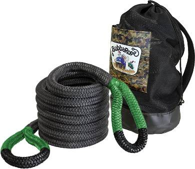"Bubba Rope - Bubba Rope (1.5"") 1-1/2"" X 30' Jumbo Bubba (Green Eyes)"