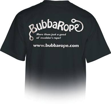 Bubba Rope - Bubba Rope T-Shirt, Black (Large)