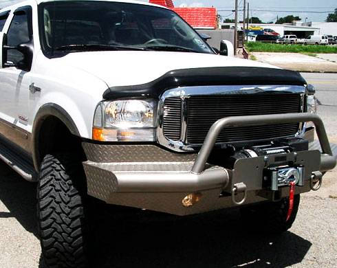 Tough Country - Tough Country Custom Apache Front Bumper, Ford (2005-07) F-250, F-350, F-450, F-550 & (05) Excursion