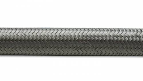 "Vibrant Performance - Vibrant Performance Stainless Steel Braided Flex Hose, 0.34"" ID, AN-6 (10' Roll)"