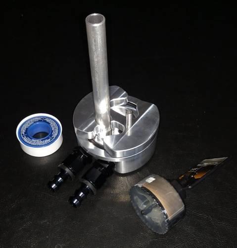 Diamond T Enterprises - Diamond T Fuel Tank Bottom Sump Kit with Integrated Return