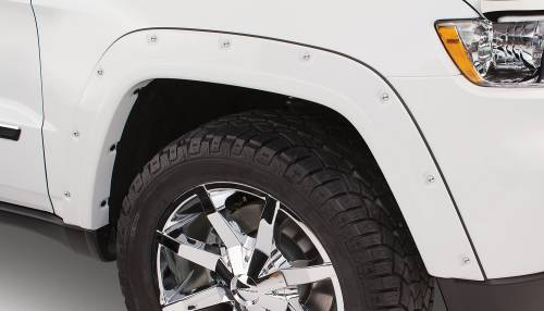 Bushwacker - Bushwacker Fender Flares,Jeep (2011-13) Grand Cherokee Fender FlareFront Pair(Pocket Style)