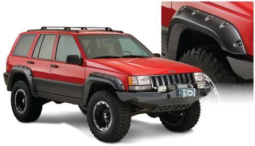Bushwacker - Bushwacker Fender Flares,Jeep (1993-98) Grand Cherokee Set of 4(Cut-Out)