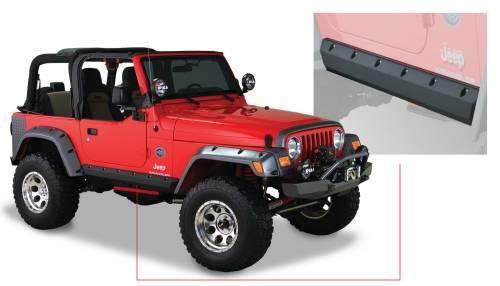 Bushwacker - Bushwacker Fender Flares,Jeep (1997-06) Wrangler Trail Armor Rocker Panel Pair(Pocket Style)