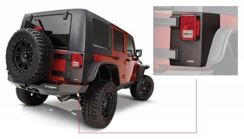 Bushwacker - Jeep Trail Armor Rear Corner - Pair - OE Matte Black