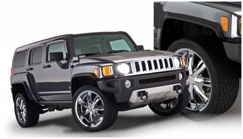Bushwacker - Bushwacker Fender Flares,Hummer (2006-10) H3Set of 4 (OE Style)