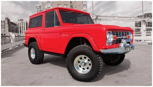 Bushwacker - Bushwacker Fender Flares,Ford (1966-77) Bronco Rear Pair(Cut-Out)