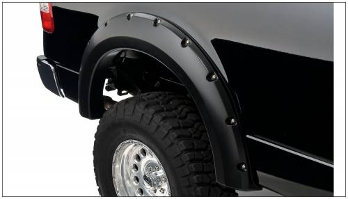 Bushwacker - Bushwacker Fender Flares,Ford / Lincoln (2004-08) F-150 (2006-08) Mark LT Fender Flare Rear Pair (Pocket Style)
