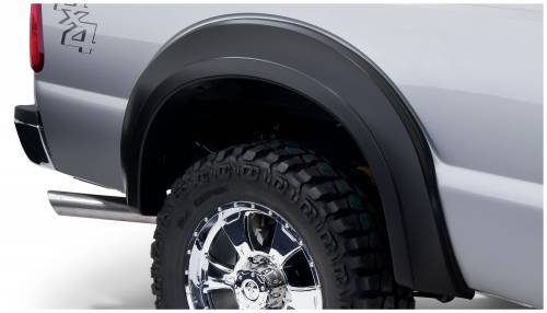 Bushwacker - Bushwacker Fender Flares,Ford (2011-14) F-250/F-350 Rear Pair(Extend-A-Fender Flare)