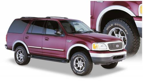 Bushwacker - Bushwacker Fender Flares, Ford (1997-02) Expedition Set of 4 (Street Flare)