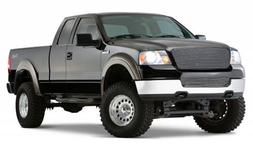 Bushwacker - Bushwacker Fender Flares,Ford / Lincoln (2004-08) F-150 (2006-08) Mark LT Set of 4(Extend-A-Fender Flare)