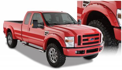 Bushwacker - Bushwacker Fender Flares, Ford (2008-10) F-250/F-350/F-450/F-550 Superduty(Pocket Style)