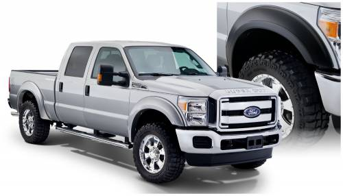 Bushwacker - Bushwacker Fender Flares,Ford (2011-14) F-250/F-350 Set of 4(Extend-A-Fender Flare)