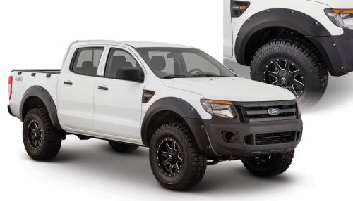 Bushwacker - Bushwacker Fender Flares,Ford (2011-13) Ranger Fender Flare Set of 4 (Pocket Style)