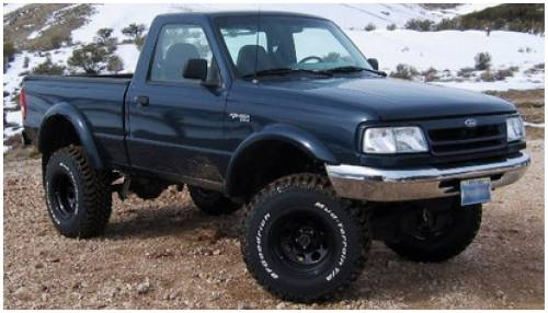 Bushwacker - Bushwacker Fender Flares,Ford (1993-11) Ranger Set of 4(Extend-A-Fender Flare)