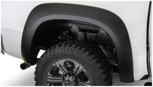 Bushwacker - Bushwacker Fender Flares,Toyota (2007-13) Tundra Rear Pair(Extend-A-Fender Flare)