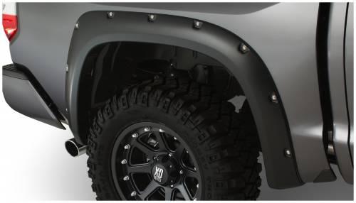 Bushwacker - Bushwacker Fender Flares,Toyota (2014) Tundra Fender Flare Rear Pair(Pocket Style)