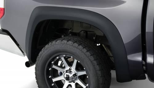 Bushwacker - Bushwacker Fender Flares,Toyota (2014-15) Tundra Rear Pair(Extend-A-Fender Flare)