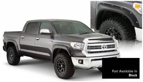 Bushwacker - Bushwacker Fender Flares,Toyota (2014-15) Tundra Fender FlareSet of 4Black(Pocket Style)