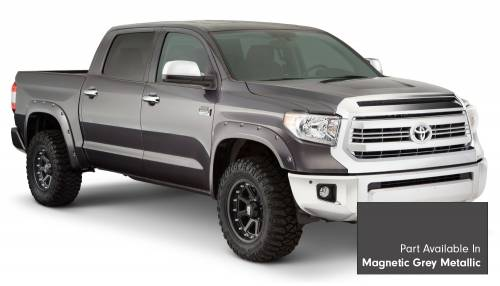 Bushwacker - Bushwacker Fender Flares,Toyota (2014-15) Tundra Fender FlareSet of 4Magnetic Grey Metallic(Pocket Style)