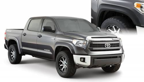 Bushwacker - Bushwacker Fender Flares,Toyota (2014-15) Tundra Set of 4(Extend-A-Fender Flare)