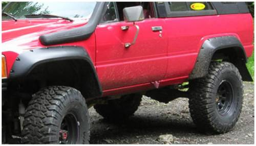 Bushwacker - Bushwacker Fender Flares,Toyota (1984-89) 4Runner Rear Pair(Cut-Out)