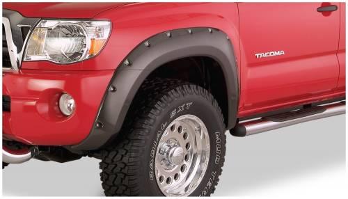 Bushwacker - Bushwacker Fender Flares,Toyota (2005-11) Tacoma Fender FlareFront Pair(Pocket Style)