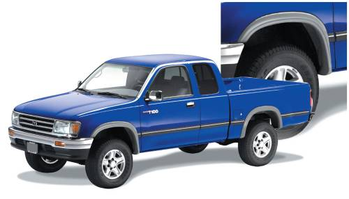 Bushwacker - Bushwacker Fender Flares, Toyota T-100 Pickup (1993-98) Set of 4 (Street Flare)