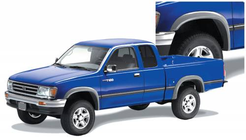 Bushwacker - Bushwacker Fender Flares,Toyota (1993-98) T100 Set of 4(Extend-A-Fender Flare)