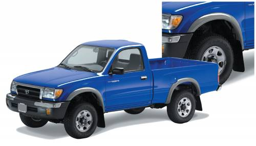 Bushwacker - Bushwacker Fender Flares,Toyota (1995-04) Tacoma Set of 4(Extend-A-Fender Flare)