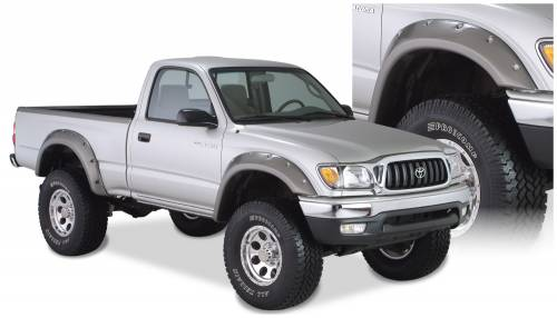 Bushwacker - Bushwacker Fender Flares,Toyota (1995-04) Tacoma Set of 4(Cut-Out)