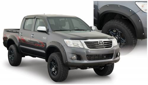 Bushwacker - Bushwacker Fender Flares,Toyota (2011-13) Tacoma Flare Set of 4(Pocket Style)