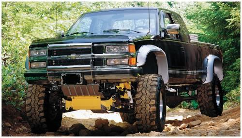 Bushwacker Fender Flares,Chevy/GMC (1988-99) 1500 (1988-00 ...