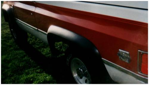 Bushwacker - Bushwacker Fender Flares,Chevy / GMC (1981-1991) 1500/2500/3500/Blazer/Jimmy/Suburban Rear Pair(Extend-A-Fender Flare)