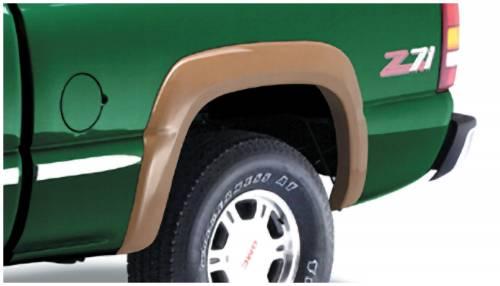 Bushwacker - Bushwacker Fender Flares,Chevy / GMC (1999-07) 1500/2500 (2001-07) 3500 Rear Pair(Extend-A-Fender Flare)