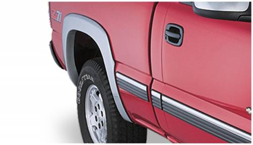 Bushwacker - Bushwacker Fender Flares,Chevy/GMC (1999-07) 1500/2500 (2001-07) 3500 Rear Pair(OE Style)
