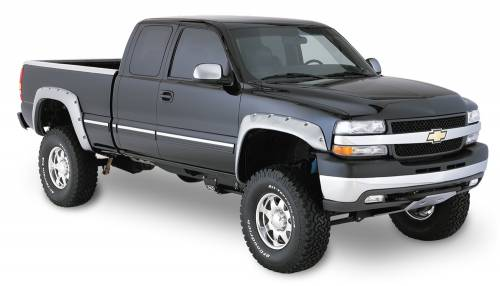 Bushwacker - Bushwacker Fender Flares,Chevy/GMC (1999-07) 1500/2500 (2001-07) 3500 Rear Pair(Cut-Out)
