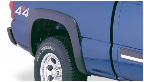 Bushwacker - Bushwacker Fender Flares,Chevy (2003-07) 1500/2500/3500 Rear Pair(OE Style)