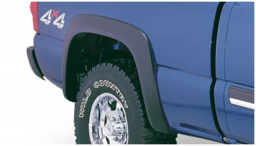 Bushwacker - Bushwacker Fender Flares,Chevy (2003-07) 1500/2500/3500 Rear Pair(Extend-A-Fender Flare)