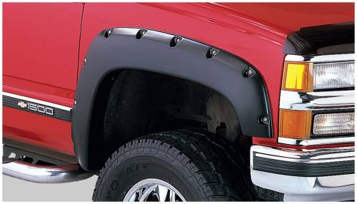 Bushwacker - Bushwacker Fender Flares,Chevy / GMC (1988-99) 1500 (1988-00) 2500 (1992-00) 3500 Fender Flare Front Pair (Pocket Style)