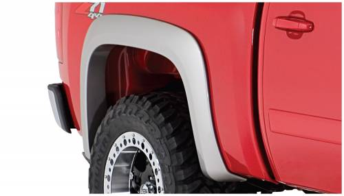 Bushwacker - Bushwacker Fender Flares,Chevy (2007-13) 1500 Rear Pair(Extend-A-Fender Flare)
