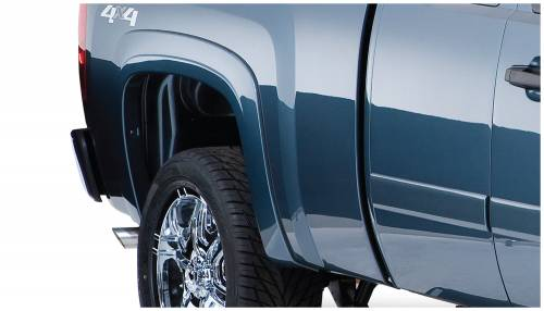 Bushwacker - Bushwacker Fender Flares,Chevy (2007-13) 1500 Rear Pair(OE Style)