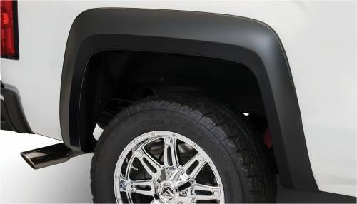 Bushwacker - Bushwacker Fender Flares,GMC (2014) 1500 (2015) 2500/3500 Rear Pair(Extend-A-Fender Flare)