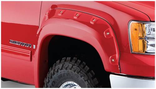 Bushwacker - Bushwacker Fender Flares,GMC (2007-13) 1500 (2007-14) 2500/3500 Front Pair(Cut-Out)